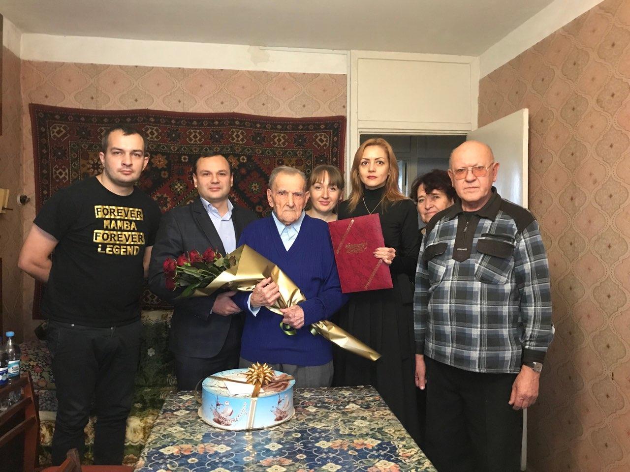 Харків'янин Павло Шеїн відзначив 100-річчя