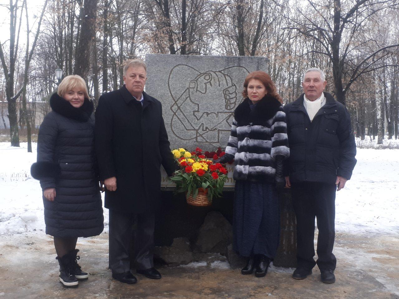 В Індустріальному районі вшанували пам'ять ліквідаторів аварії на ЧАЕС