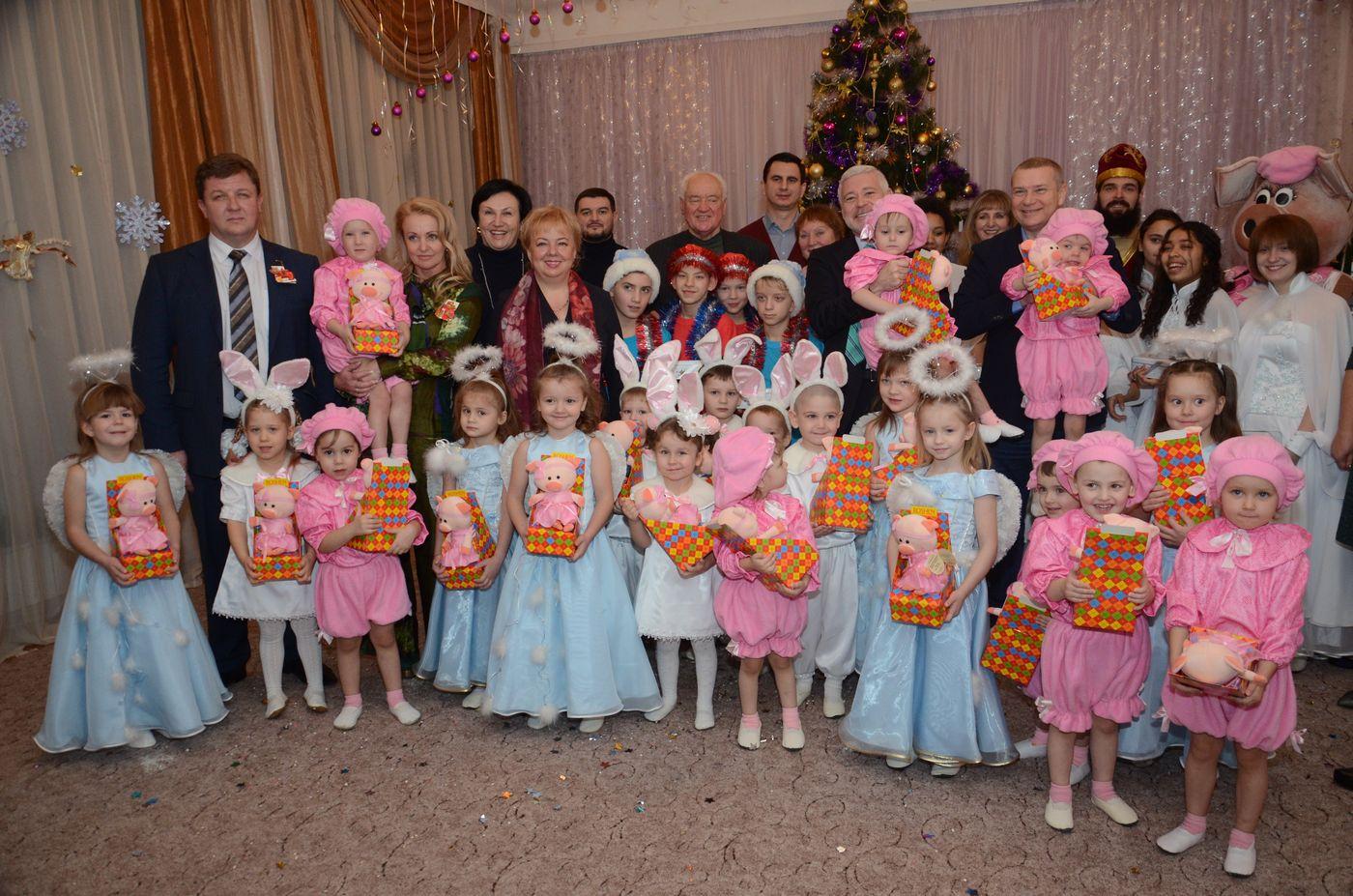 Ігор Терехов привітав з Днем святого Миколая вихованців дитячого будинку «Родина»