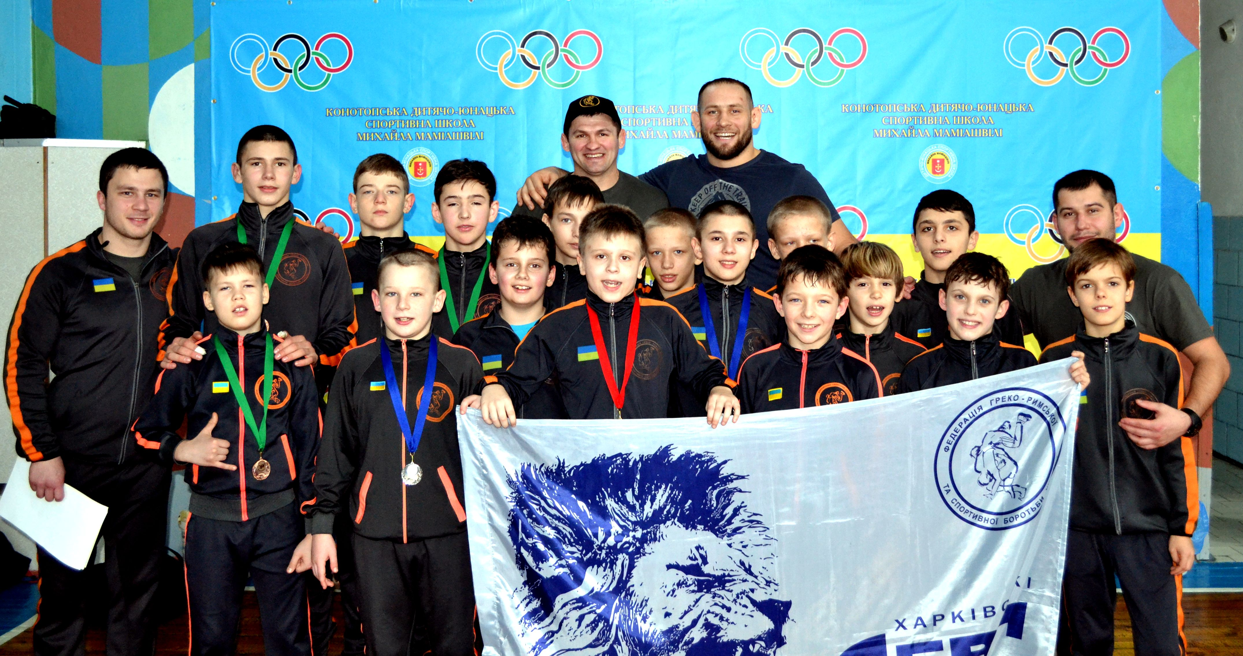 Юні харківські борці успішно виступили на всеукраїнському турнірі