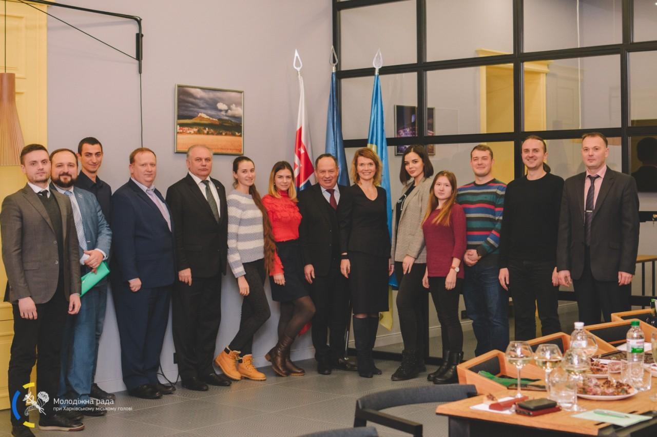 У Харкові пройшла зустріч студентів з українською молоддю, яка навчається за кордоном
