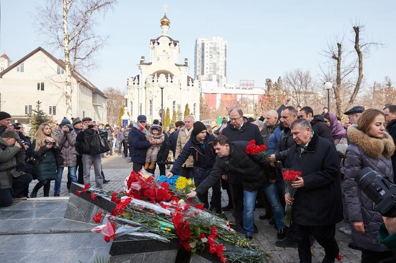 У Харкові вшанували пам'ять загиблих в Афганістані
