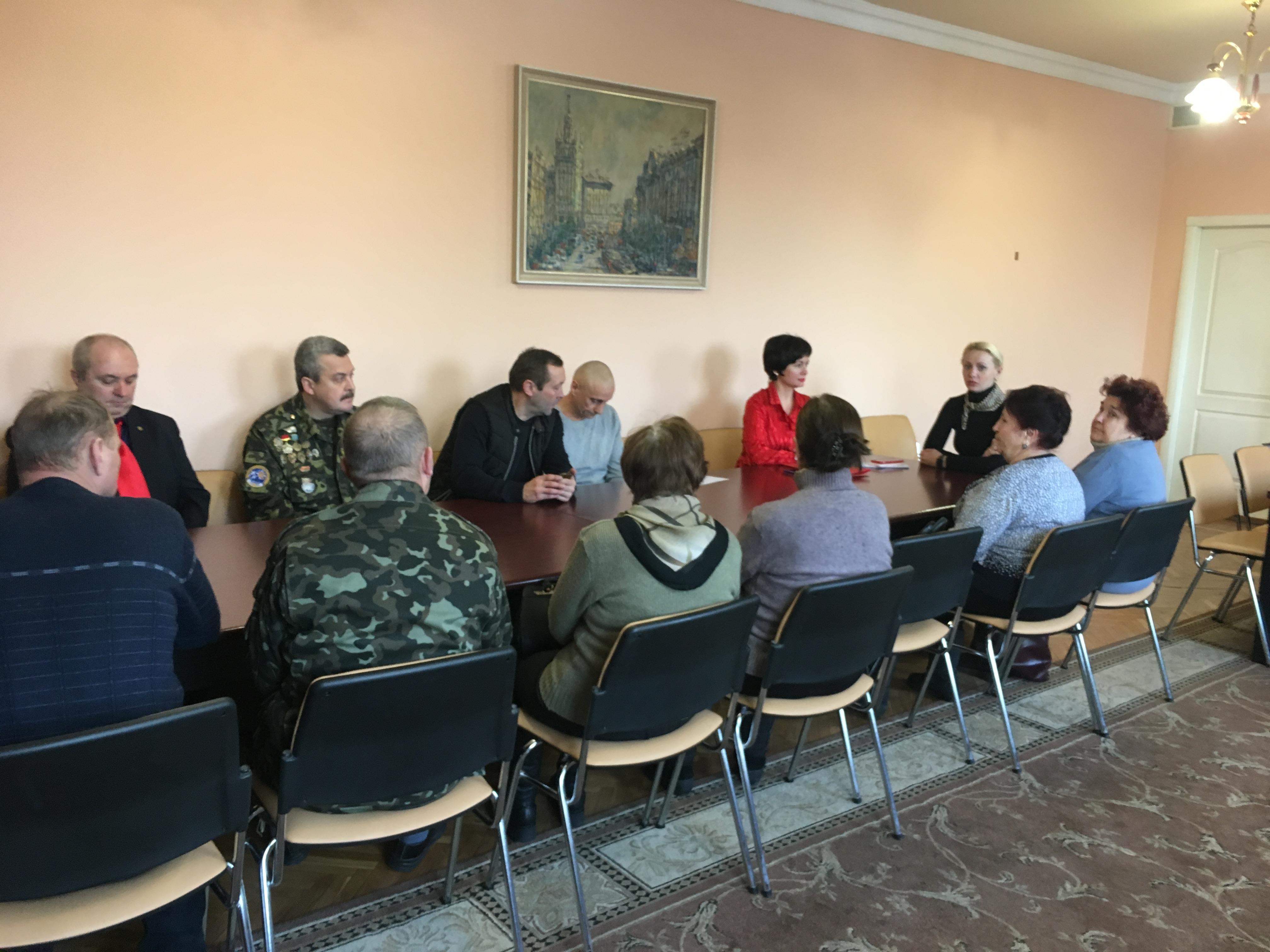 В Основ'янському районі пройшла зустріч з ветеранами-інтернаціоналістами