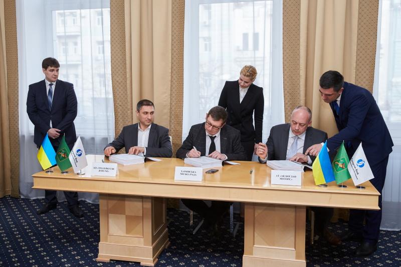 Тролейбусне депо №2 та «Богдан Моторс» підписали договір на поставку тролейбусів