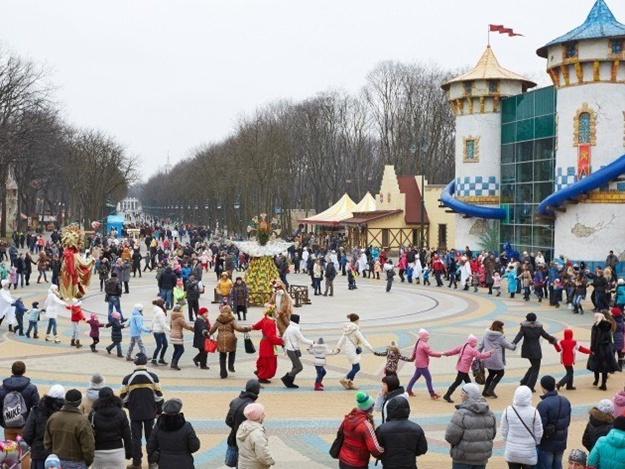 У парку Горького відсвяткують Масляну