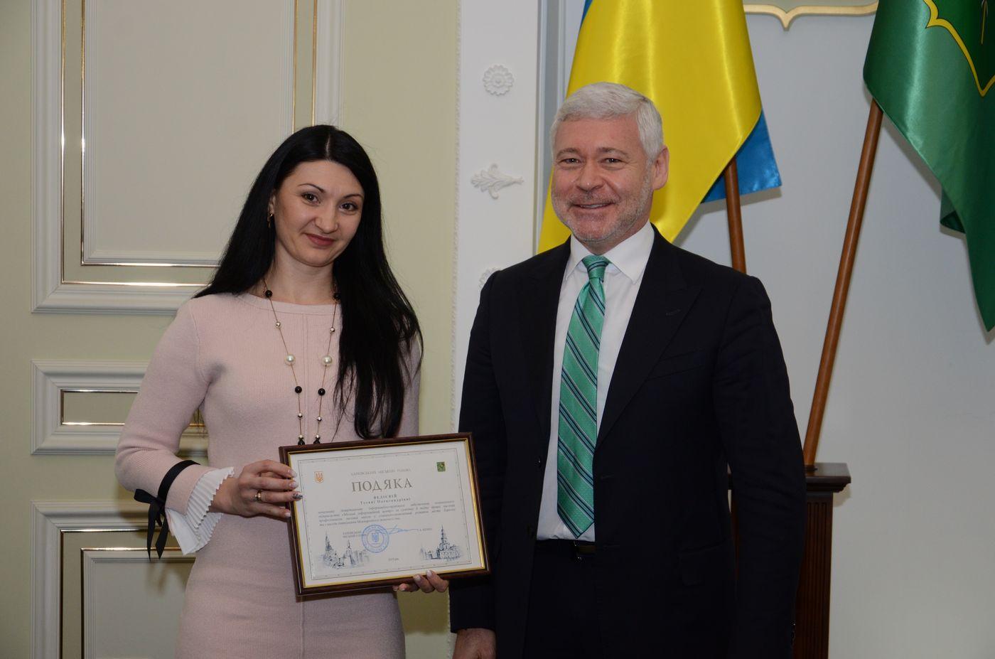Ігор Терехов привітав жінок з Міжнародним жіночим днем