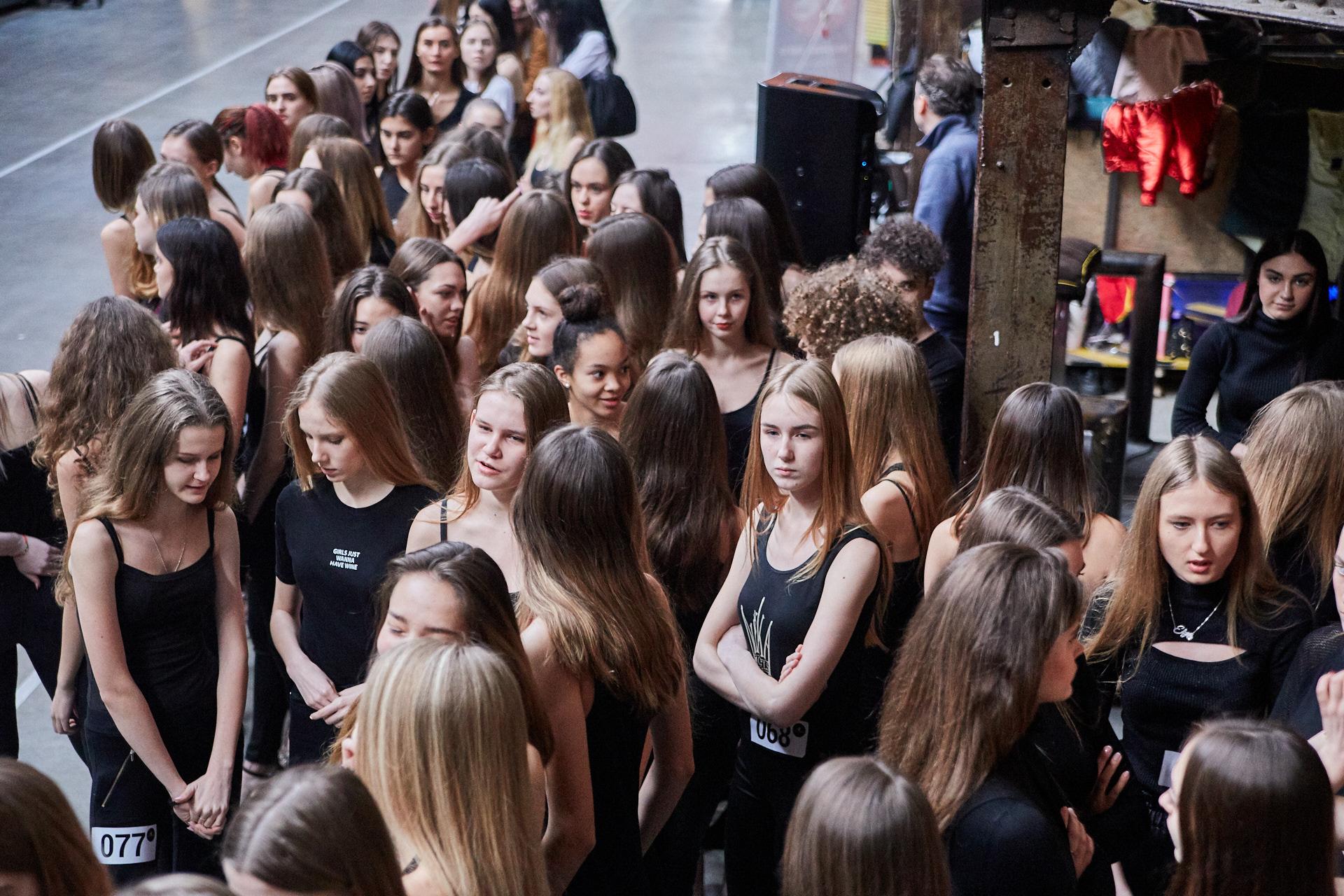 У кастингу «Kharkiv Fashion» взяли участь близько 200 дівчат