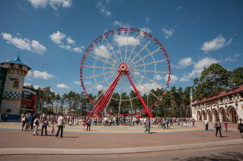 У парку Горького встановлять новий атракціон і облаштують бігові доріжки