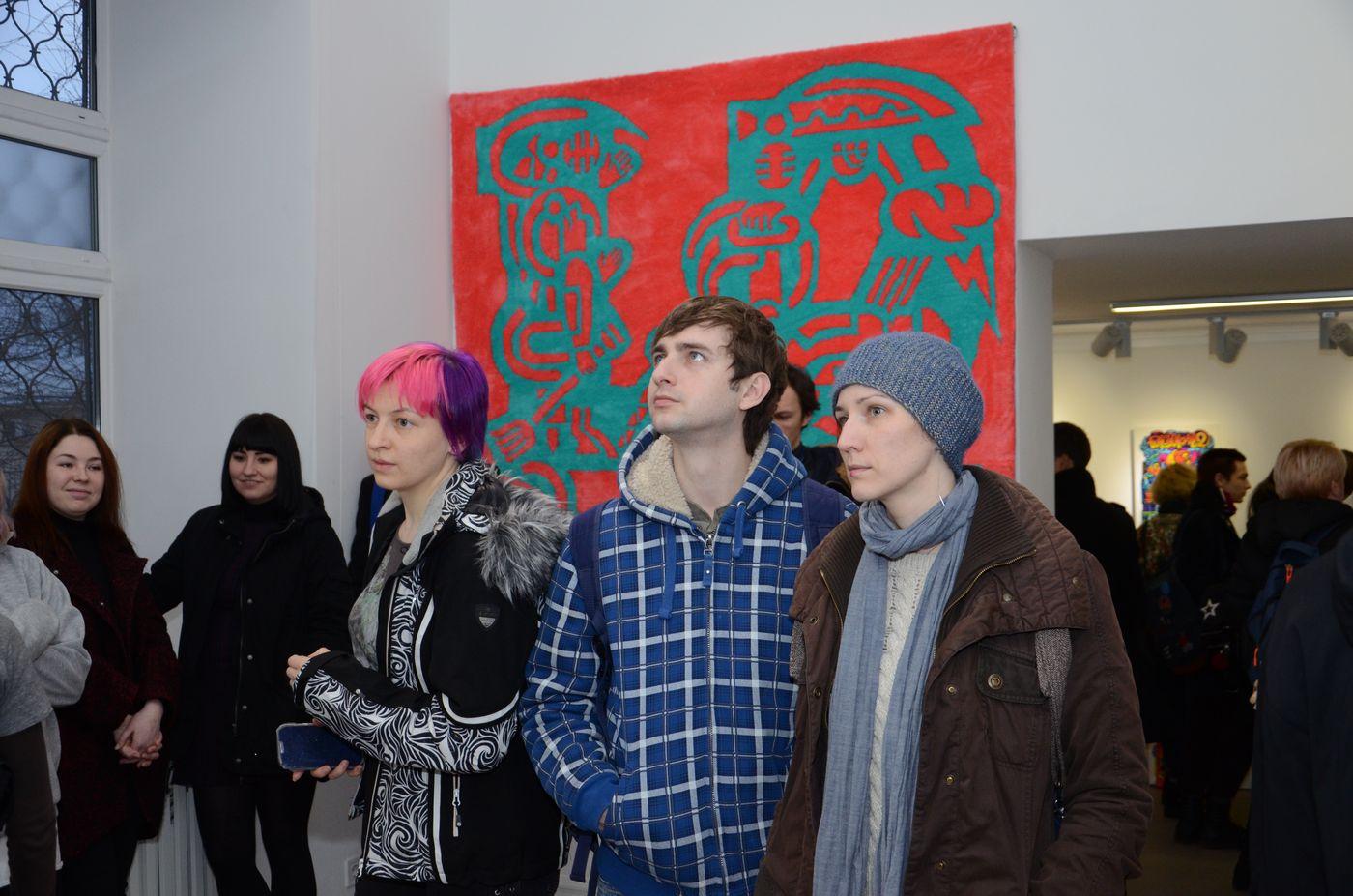 У Муніципальній галереї презентували третю частину проекту Романа Мініна «Золото нації»