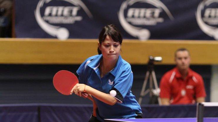 Харків'янка завоювала золоті медалі на міжнародному турнірі з настільного тенісу