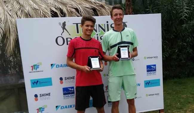 Харківський тенісист здобув перемогу на парному турнірі в Анталії