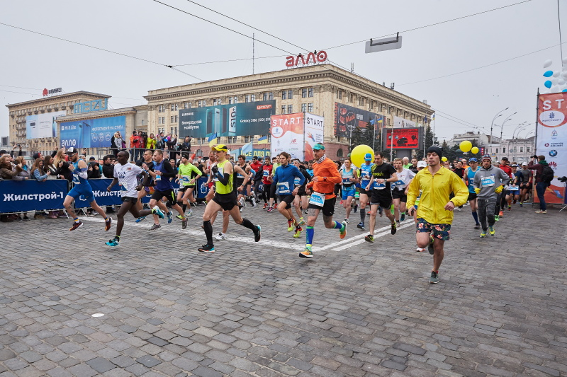 У Харкові пройшов міжнародний марафон (оновлено)