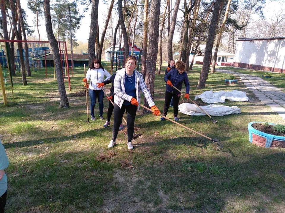 Співробітники КП «Харківводоканал» взяли участь у загальноміському суботнику