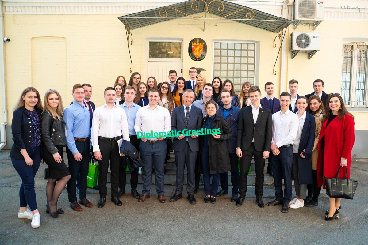 Майбутні дипломати з Харкова відвідали МЗС і посольства різних країн