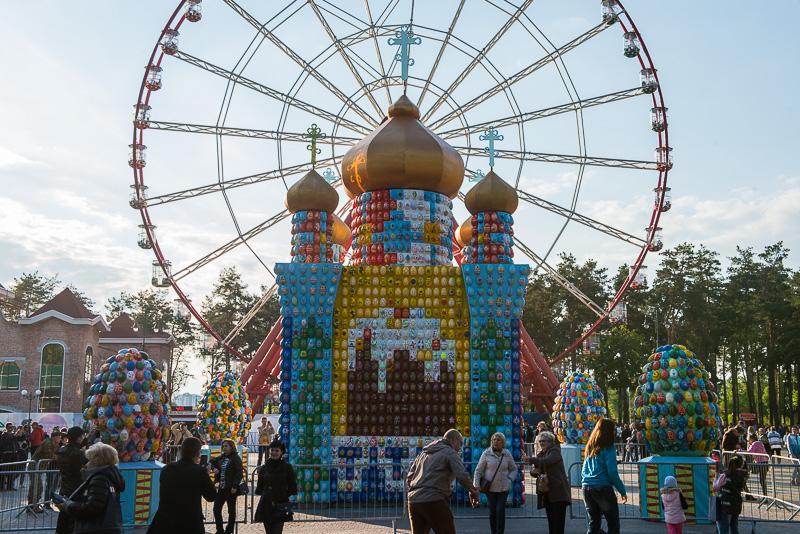 Харків'ян запрошують у парк Горького на великодні свята