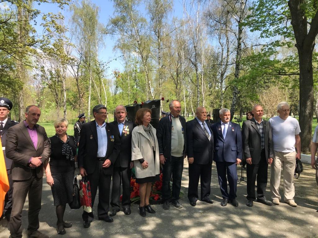 У Слобідському районі вшанували чорнобильців