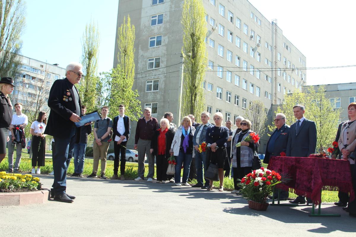 У Київському районі вшанували пам'ять ліквідаторів аварії на ЧАЕС