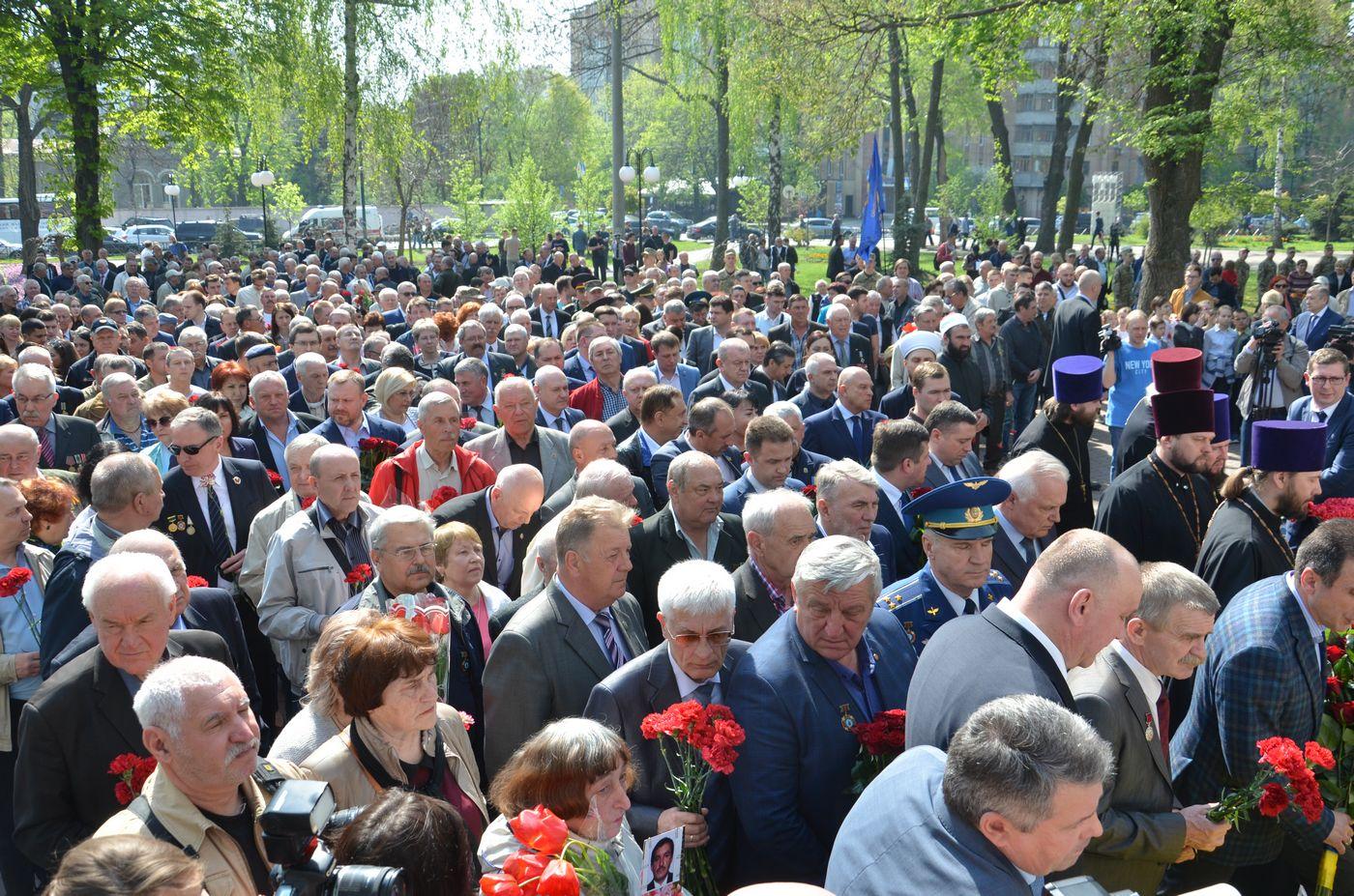 Харків'яни вшанували пам'ять ліквідаторів наслідків Чорнобильської катастрофи
