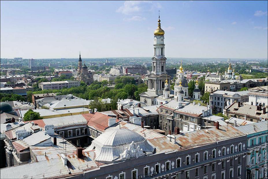 У вихідні в Харкові - до 25 градусів тепла і можливий дощ