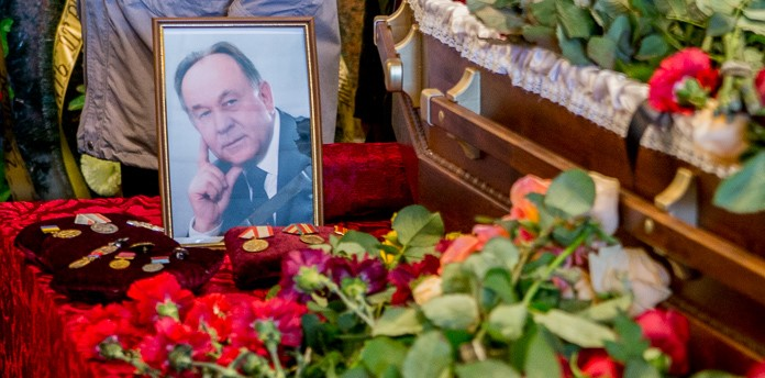 У місті попрощалися із заслуженим працівником ЖКГ Григорієм Жибером