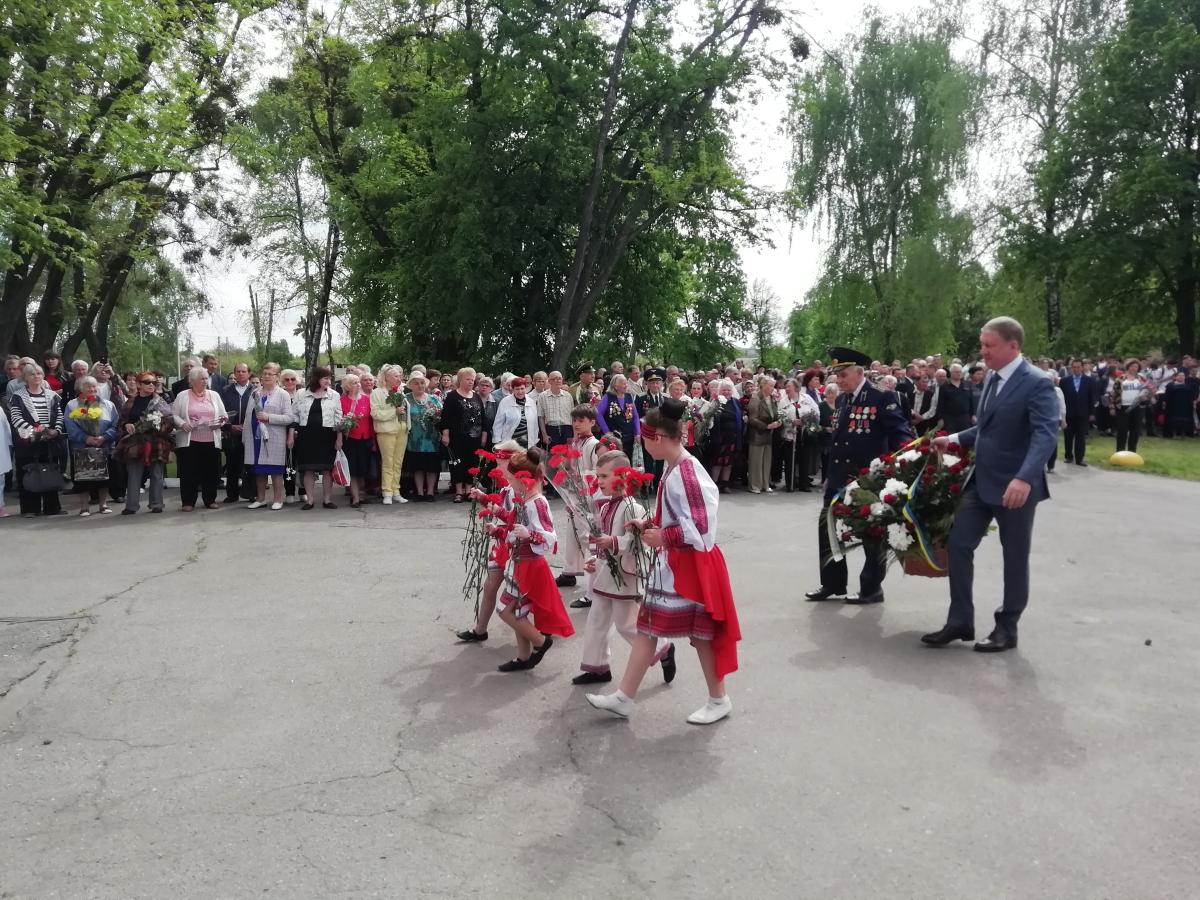В Основ'янському районі провели заходи на честь Дня Перемоги