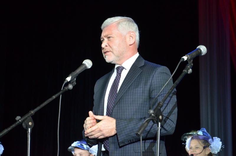 Ігор Терехов привітав ветеранів у Новобаварському районі