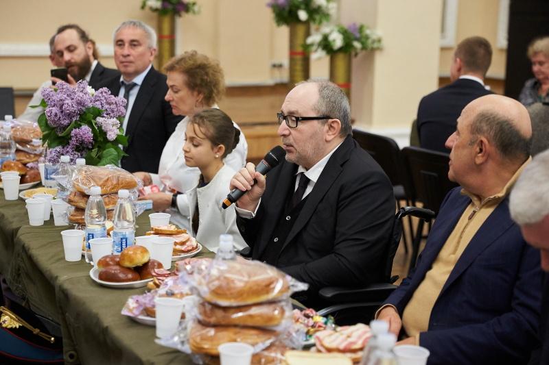Ветерани святкують на «польовій каші»