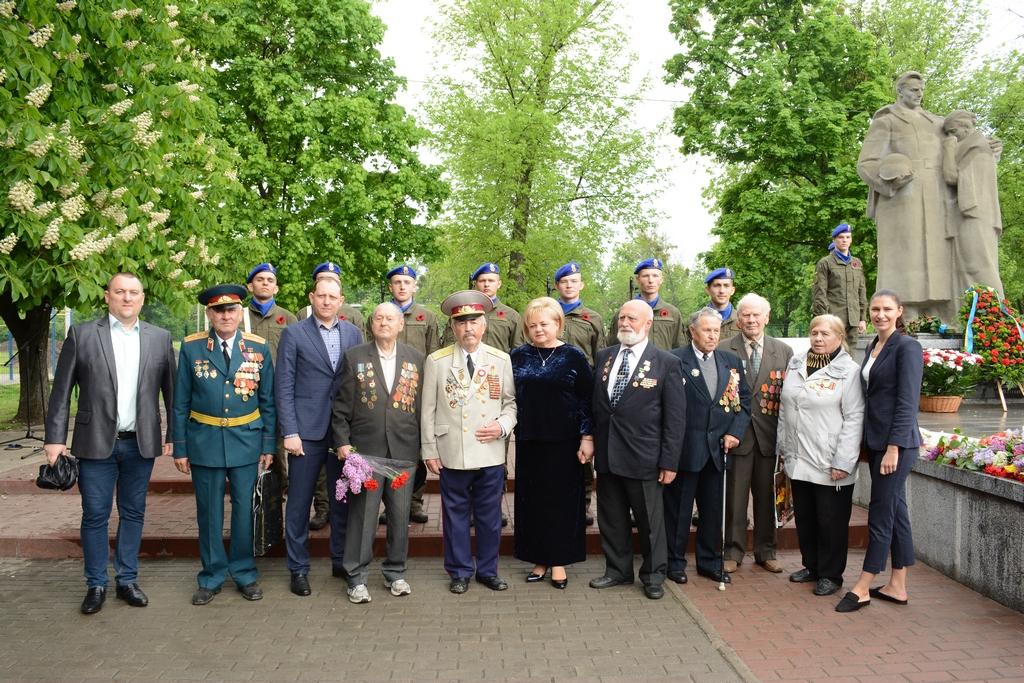 У Немишлянському районі вшанували пам'ять героїв Другої світової