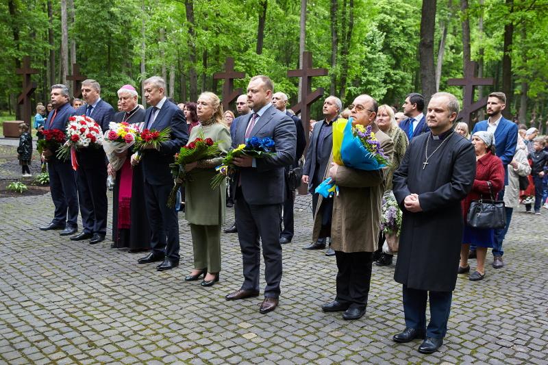 У Харкові вшанували пам'ять жертв Катинської трагедії