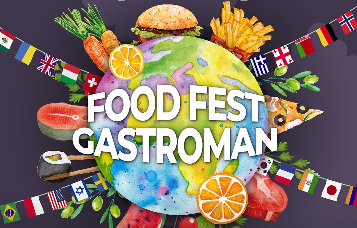 Фестиваль вуличної їжі «Food Fest Gastroman 2019»: кухні народів світу і соціальні акції
