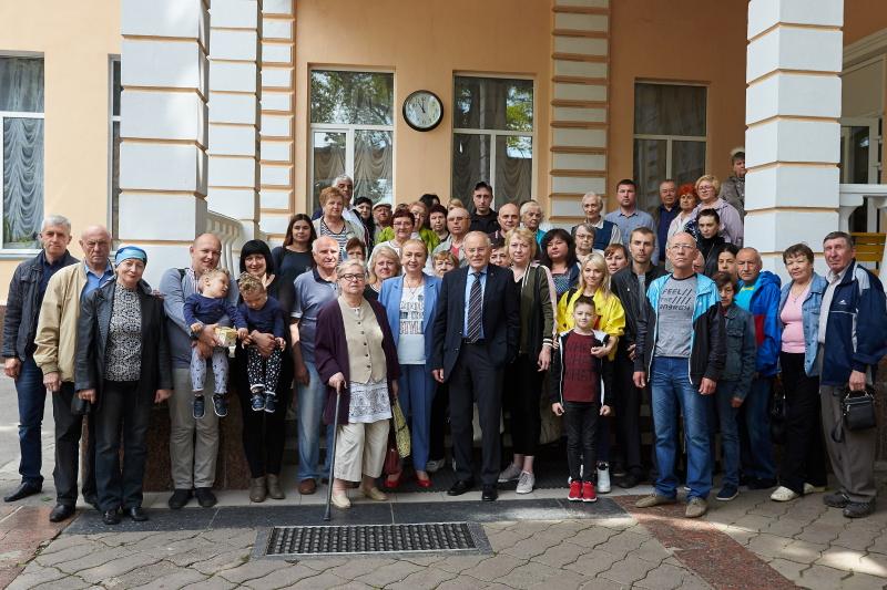 Харків'янам вручили матеріальну допомогу від німецьких благодійників