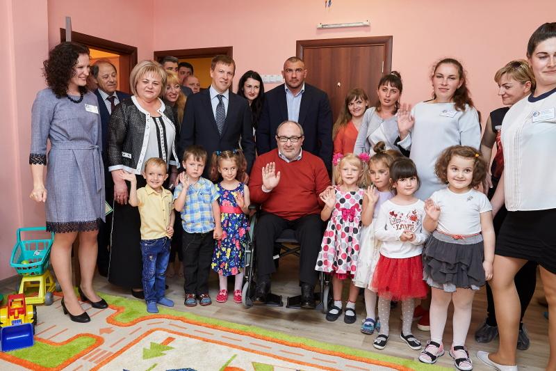 Геннадій Кернес відкрив нові групи в дитсадках Немишлянського району
