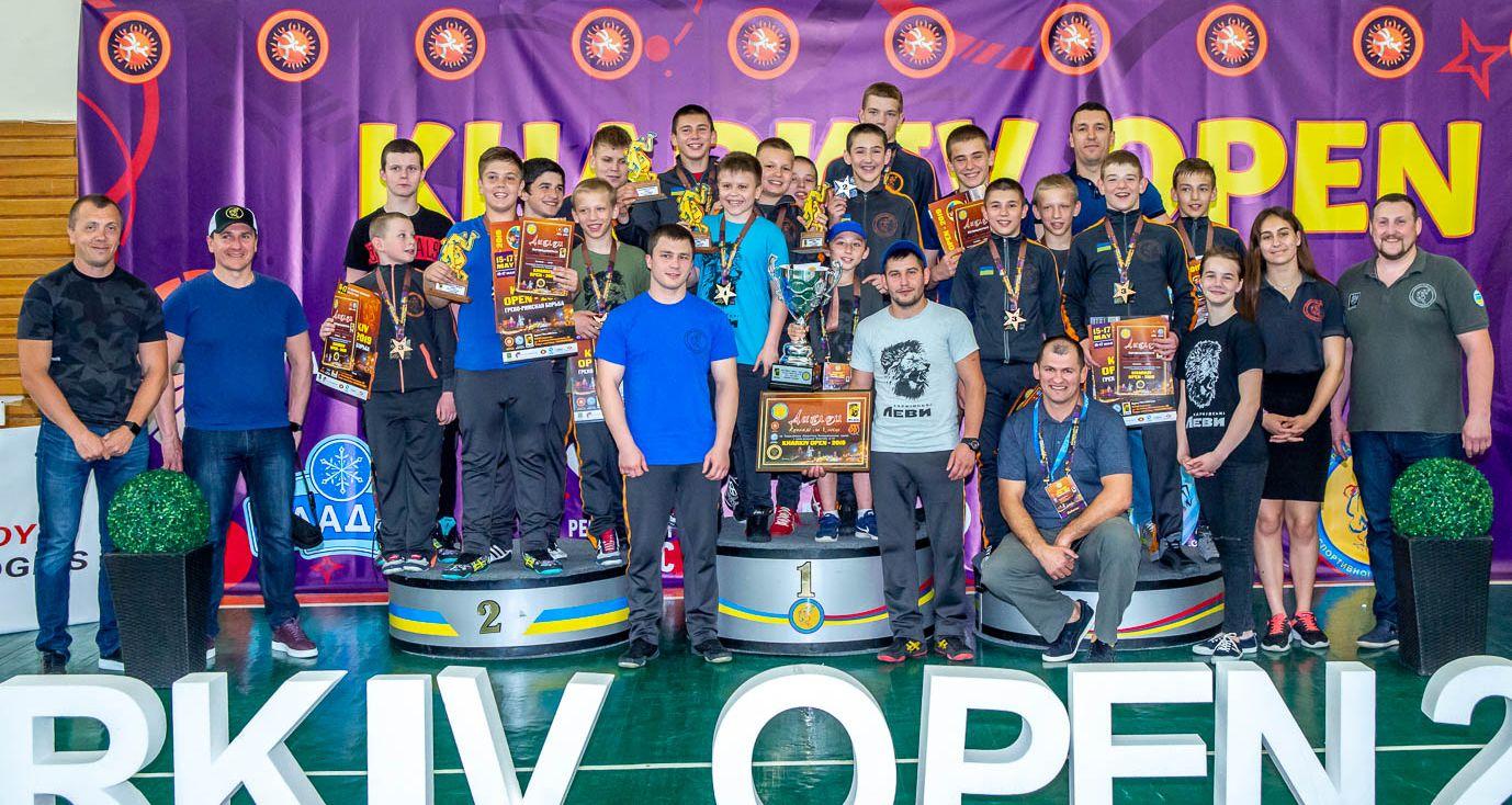 Харків'яни виграли всеукраїнський турнір з греко-римської боротьби