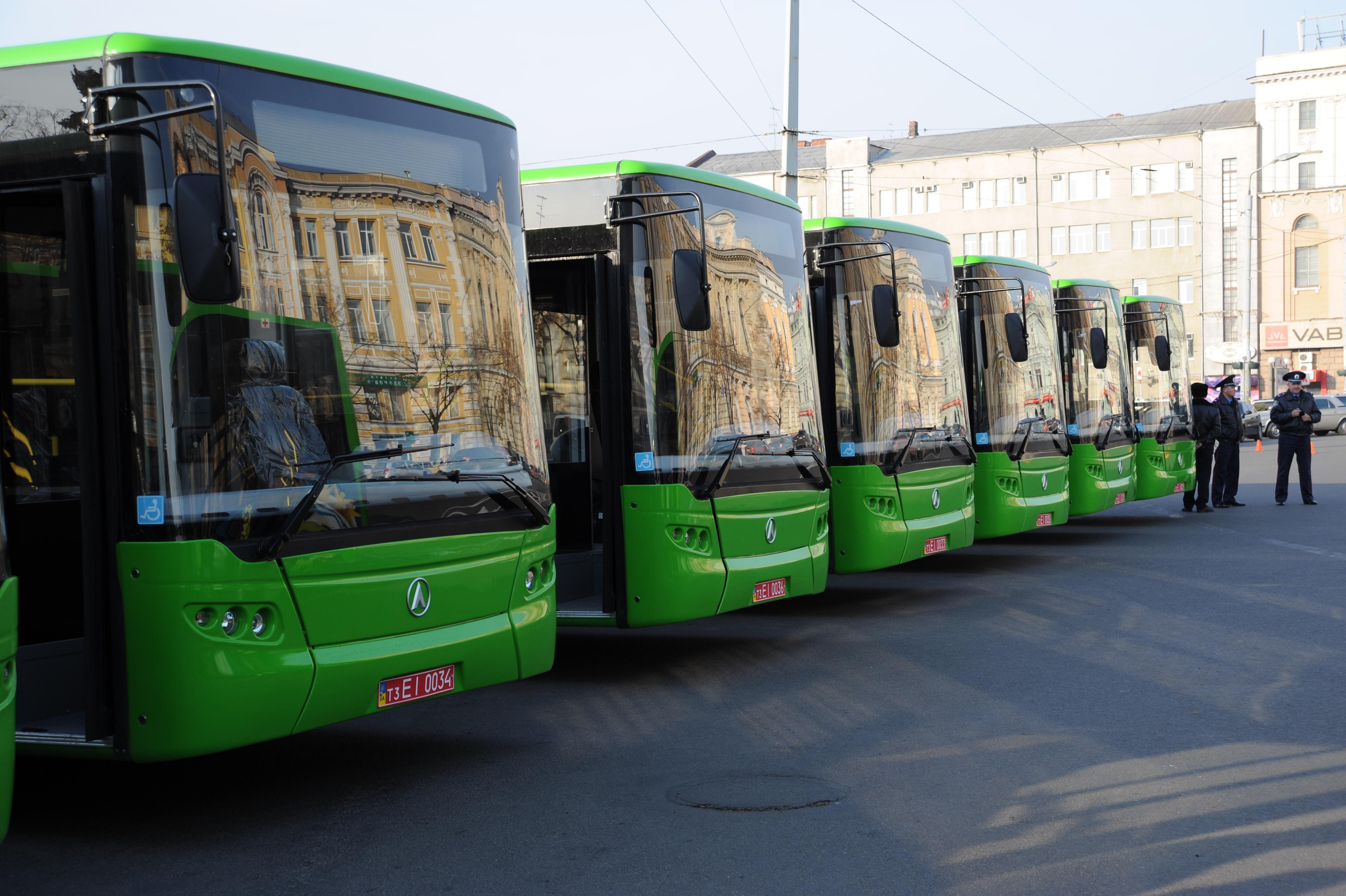 У Харкові введуть нові автобусні маршрути