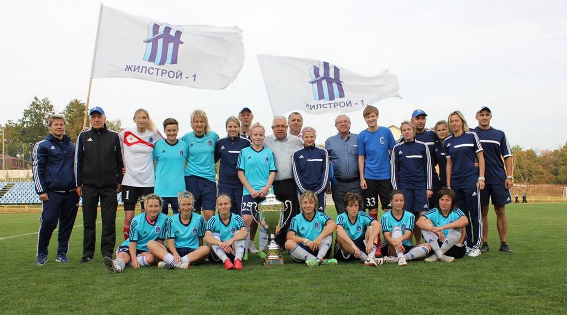 Харків'янки вдев'яте стали чемпіонками України з жіночого футболу