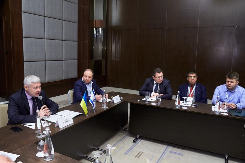 Харків та Ізраїль обговорили напрямки співпраці